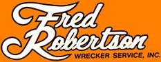 Fred Robertson Wrecker Service Logo